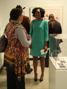 Exhibit opening National Afro-American Museum and Cultural Center (2013)